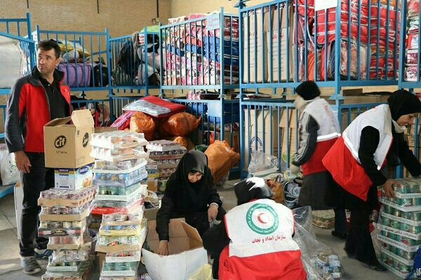 گزارش اولیه هزینه خدمات امدادی توزیع شده توسط جمعیت هلال احمر